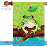 Frog On A Branch Image 3