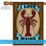 Maine Lobster Sign Image 3