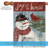 Joy to the World Snowman Image 3
