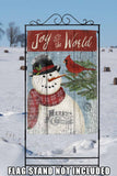 Joy to the World Snowman Image 6