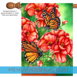 Geraniums and Butterflies Image 3