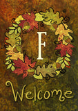 Fall Wreath Monogram F Image 1