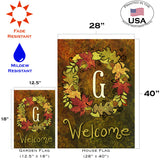 Fall Wreath Monogram G Image 4