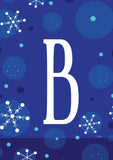 Winter Snowflakes Monogram B Image 1