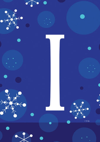 Winter Snowflakes Monogram I Image 1
