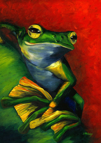 Tranquil Tree Frog Image 1