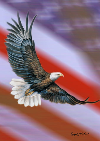 Patriotic Eagle Image 1