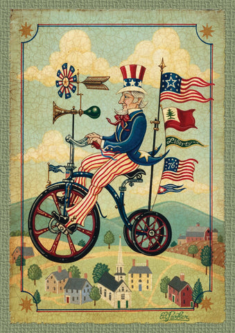 Patriotic Bikes 'n Stripes Image 1