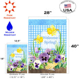 Pansies ' n Plaid Image 4