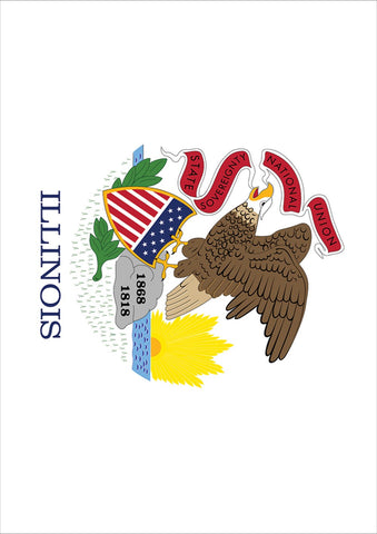 Illinois State Flag Image 1