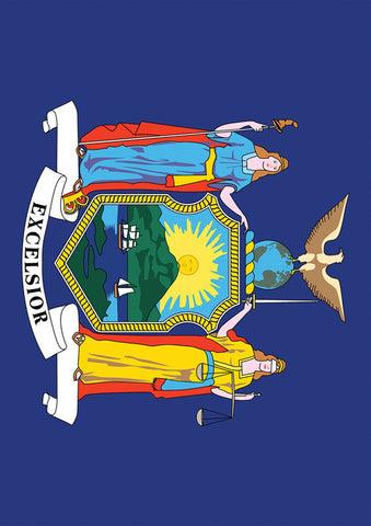 New York State Flag Image 1