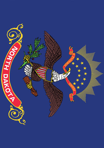 North Dakota State Flag Image 1