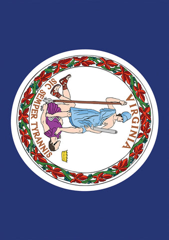 Virginia State Flag Image 1