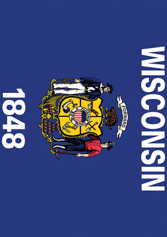 Wisconsin State Flag Image 1