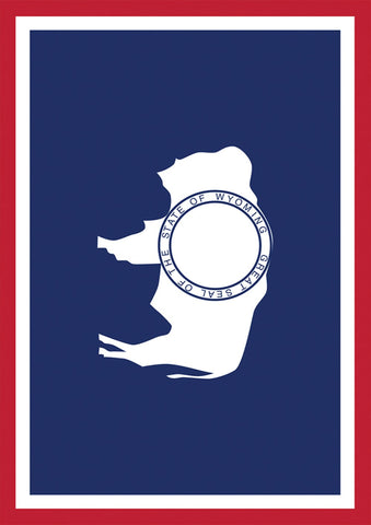 Wyoming State Flag Image 1