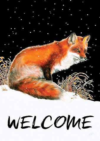 Winter Welcome Fox Image 1