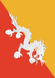 Flag of Bhutan Image 1