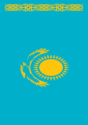 Flag of Kazakhstan Image 1