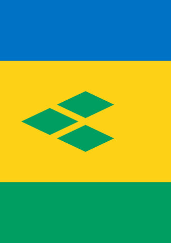 Flag of Saint Vincent and the Grenadines Image 1