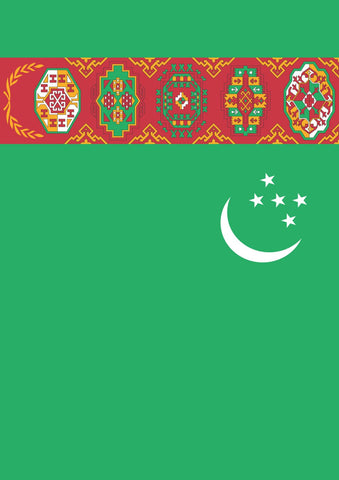 Flag of Turkmenistan Image 1