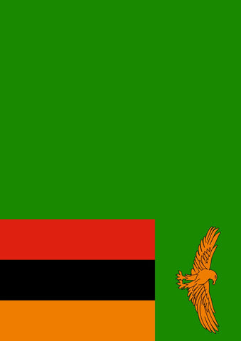 Flag of Zambia Image 1