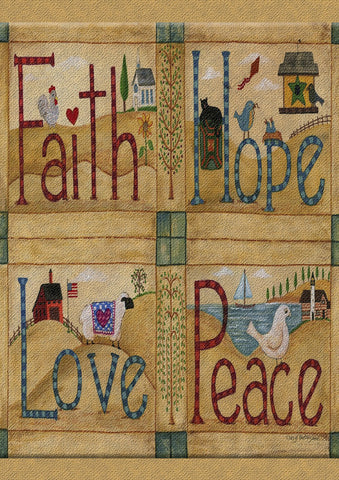 Faith Hope Love Peace Image 1