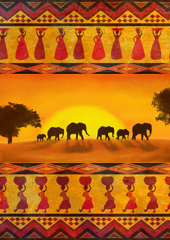 Savanna Sunset Image 1