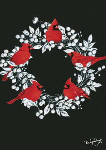 Cardinal Wreath Image 1