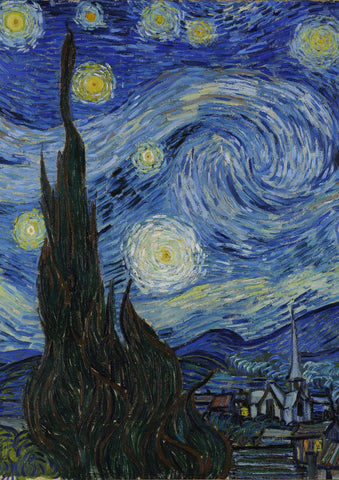Van Gogh's Starry Night Image 1