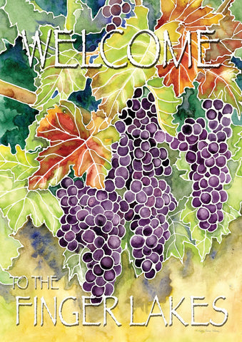 Vineyard Grapes-Welcome to the Finger Lakes Image 1