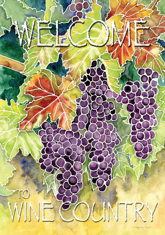 Vineyard Grapes-Welcome to Wine Country Image 1