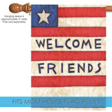 Patriotic Welcome Friends Image 3