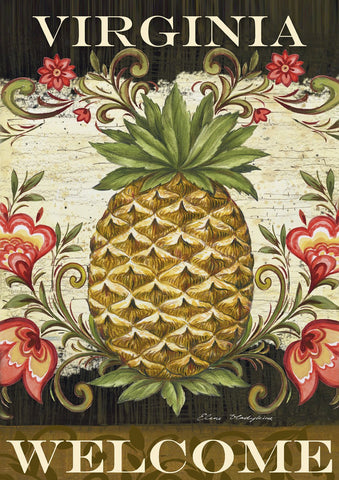 Pineapple & Scrolls-Virginia Welcome Image 1
