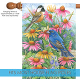 Chickadee And Indigo Bunting Image 3