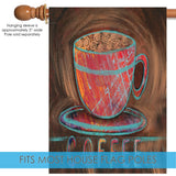 Oil Pastel Coffee Cup Image 3