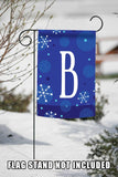 Winter Snowflakes Monogram B Image 5