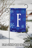 Winter Snowflakes Monogram F Image 5
