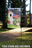 Flag Flying Bird House Image 5