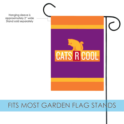 Cats R Cool Flag Toland Flags