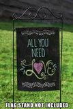 All You Need Is Love Chalkboard Image 5
