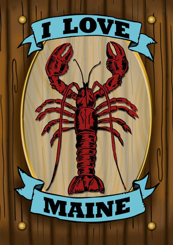 Maine Lobster Sign Image 1