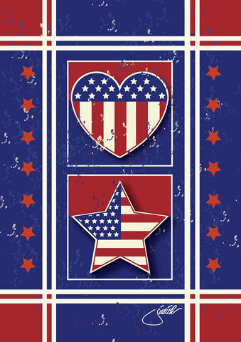 Stars Stripes and Hearts Image 1