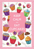Keep Calm and Eat Cupcakes Image 1