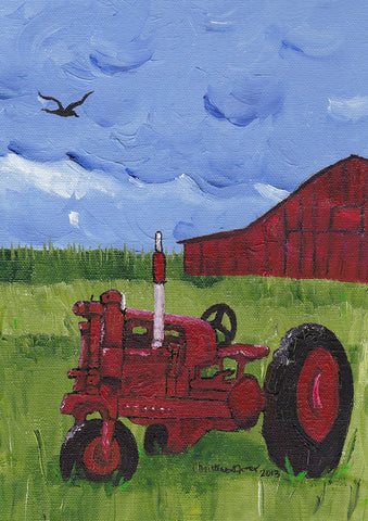 Red Tractor Image 1