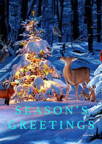 Woodland Season Greetings Image 1