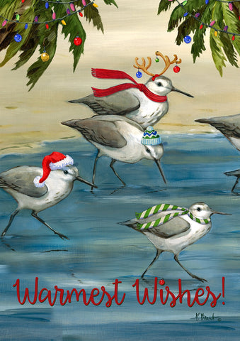 Silly Sandpiper Christmas Image 1