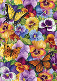 Pansy and Butterfly Image 1