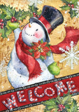 Candy Cane Snowman Image 1