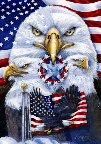 Patriotic Eagles Image 1
