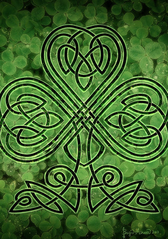 Celtic Shamrock Image 1